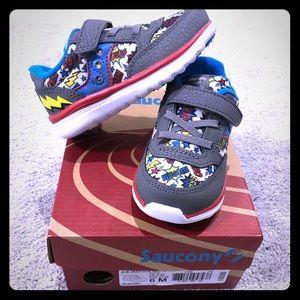 NWT Saucony Baby Jazz Lite Superhero  Sneakers 🌟